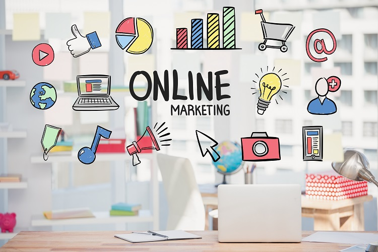 Online marketing presentatie VOS